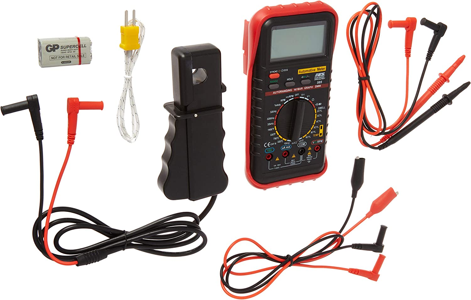 Electronic Specialty DELUXE AUTO DIGITAL MULTIMETER HOL 585K