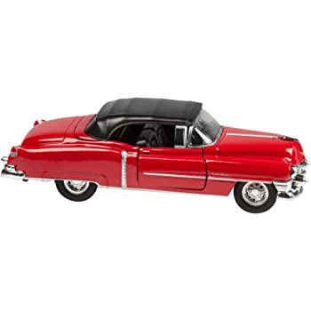 Amazon Com Model Car Toy Car Scale Model Red Cadillac
