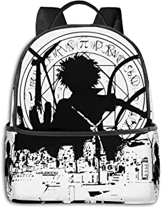 Anime & Inner City Illusion Student School Bag School Cycling Leisure Travel Camping Outdoor Backpack