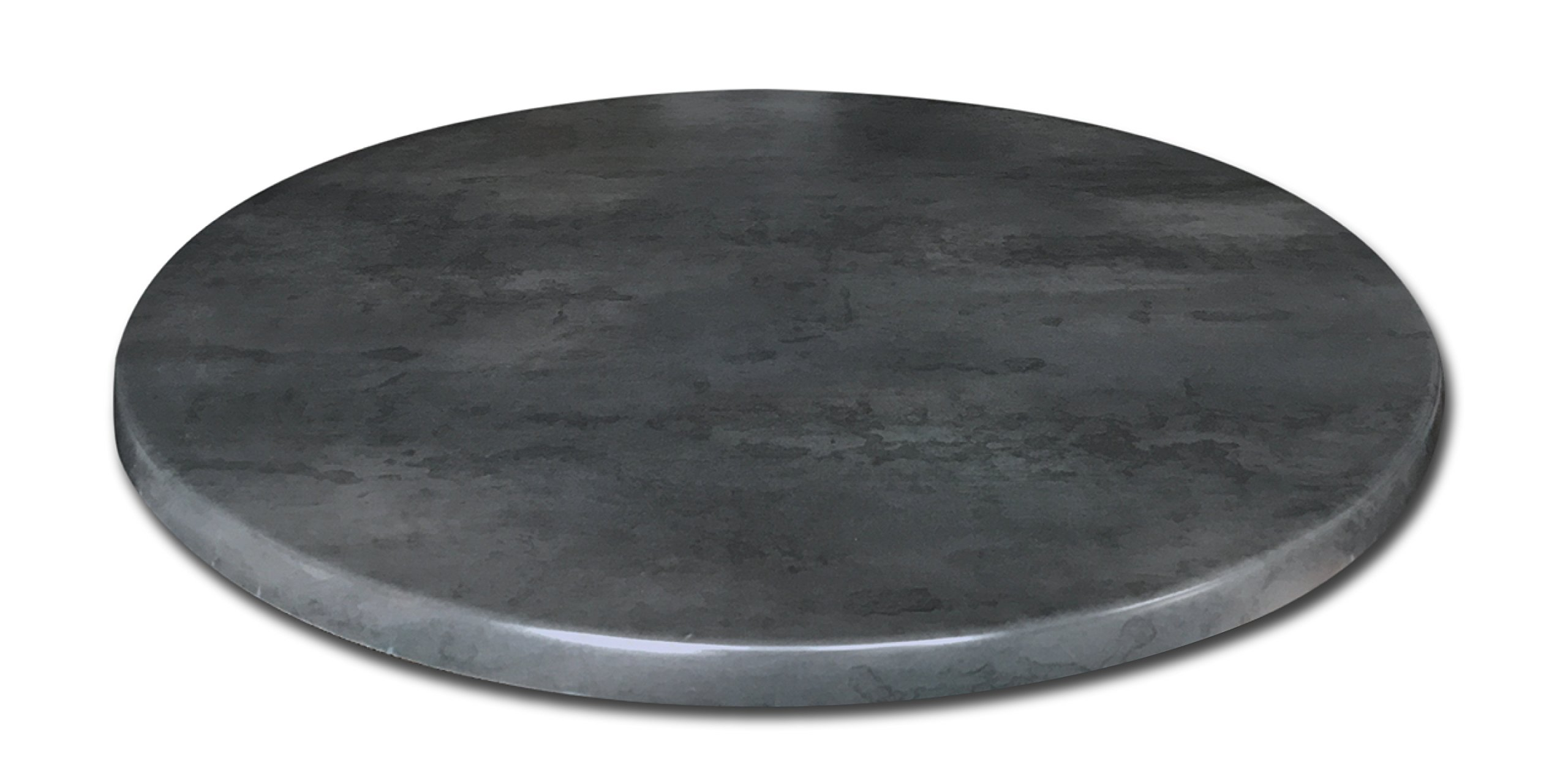 Holland Bar Stool Co. OD36RBlkStl Indoor/Outdoor Table Top, Black Steel by Holland Bar Stool Co.