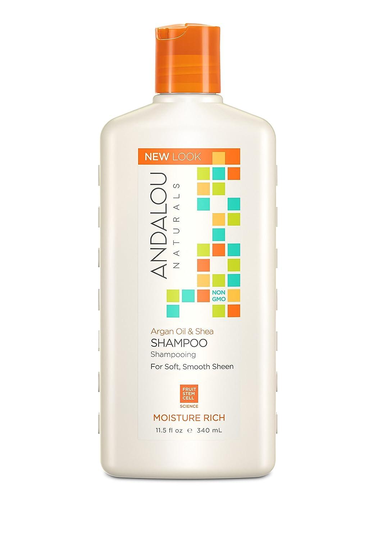 Argan Oil & Shea Moisture Rich Shampoo by Andalou Naturals
