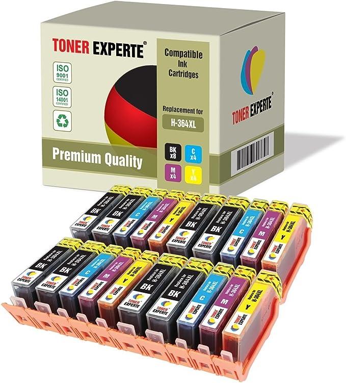 Pack de 20 XL TONER EXPERTE® Cartuchos de Tinta compatibles con HP ...