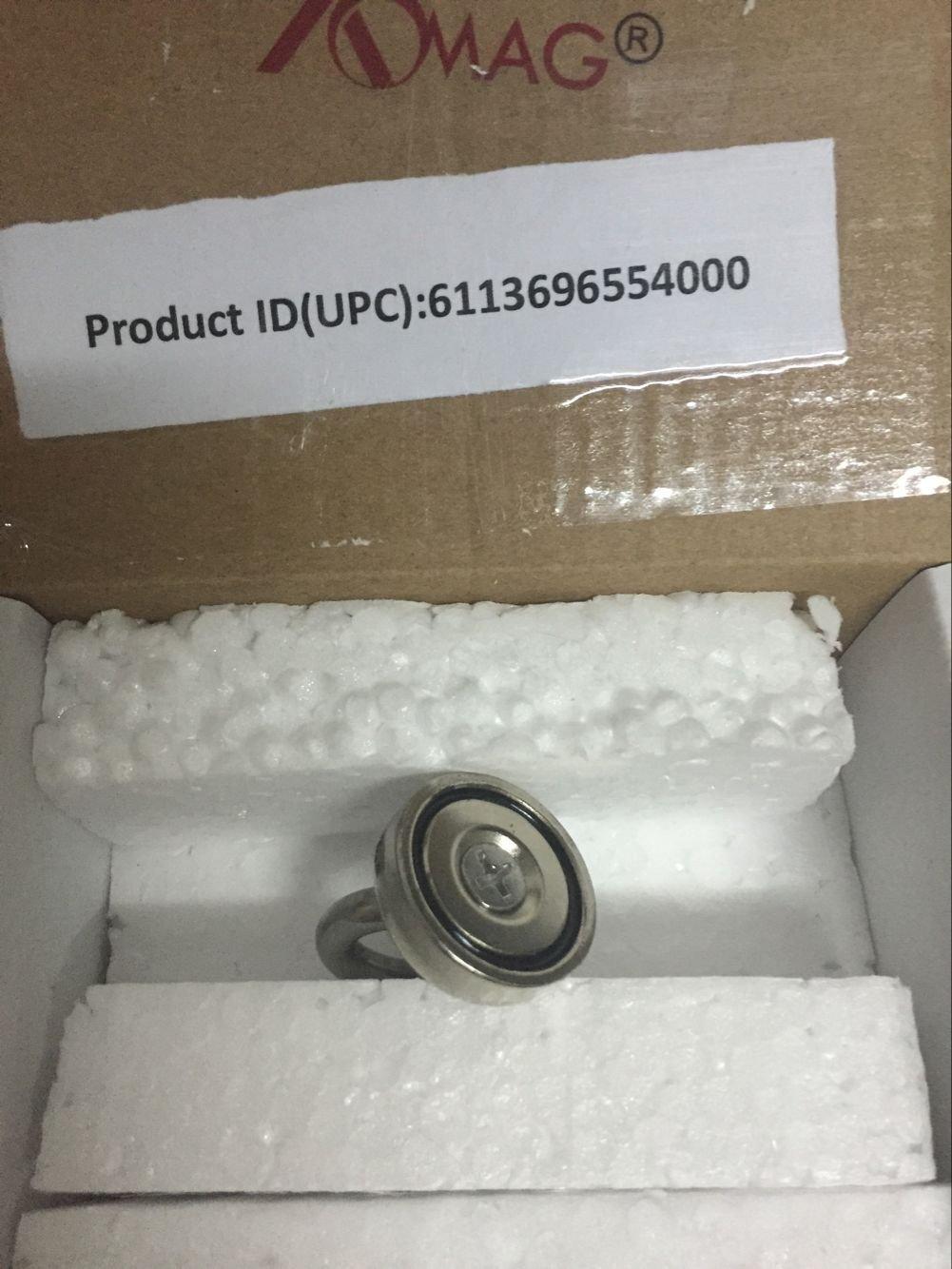 AOMAG Strong N52 Neodymium Eyebolt Circular Rings Magnet 25x30mm For 14KG Salvage