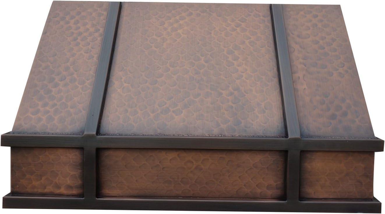 Copper Best H11 362118L Under Cabinet Copper Range Hood Under 36 inch