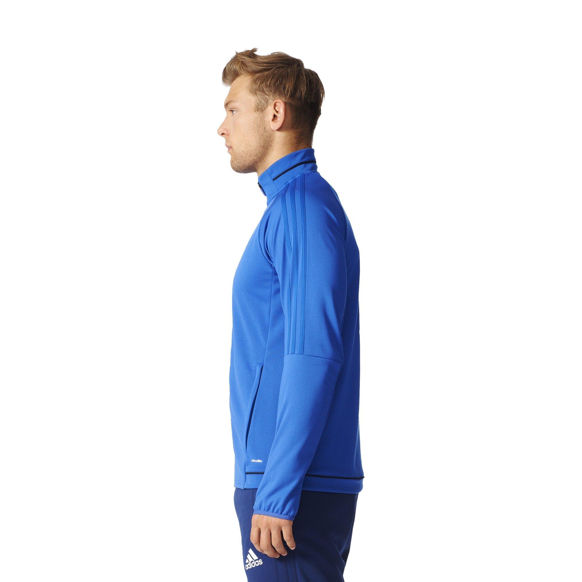 25f944c201ae Adidas Tiro 17 Mens Soccer Training Jacket L Bold Blue-Black-White - BQ8201    Soccer   Sports   Outdoors - tibs