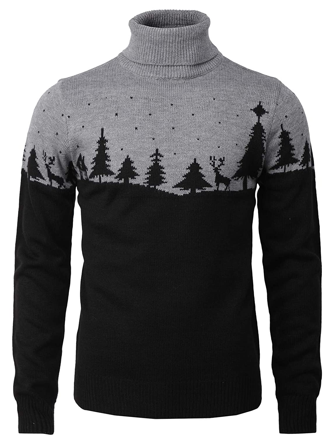 196675accb H2H Mens Casual Slim Fit Knitted Pullover Sweaters Thermal of Various  Christmas Pattern at Amazon Men s Clothing store