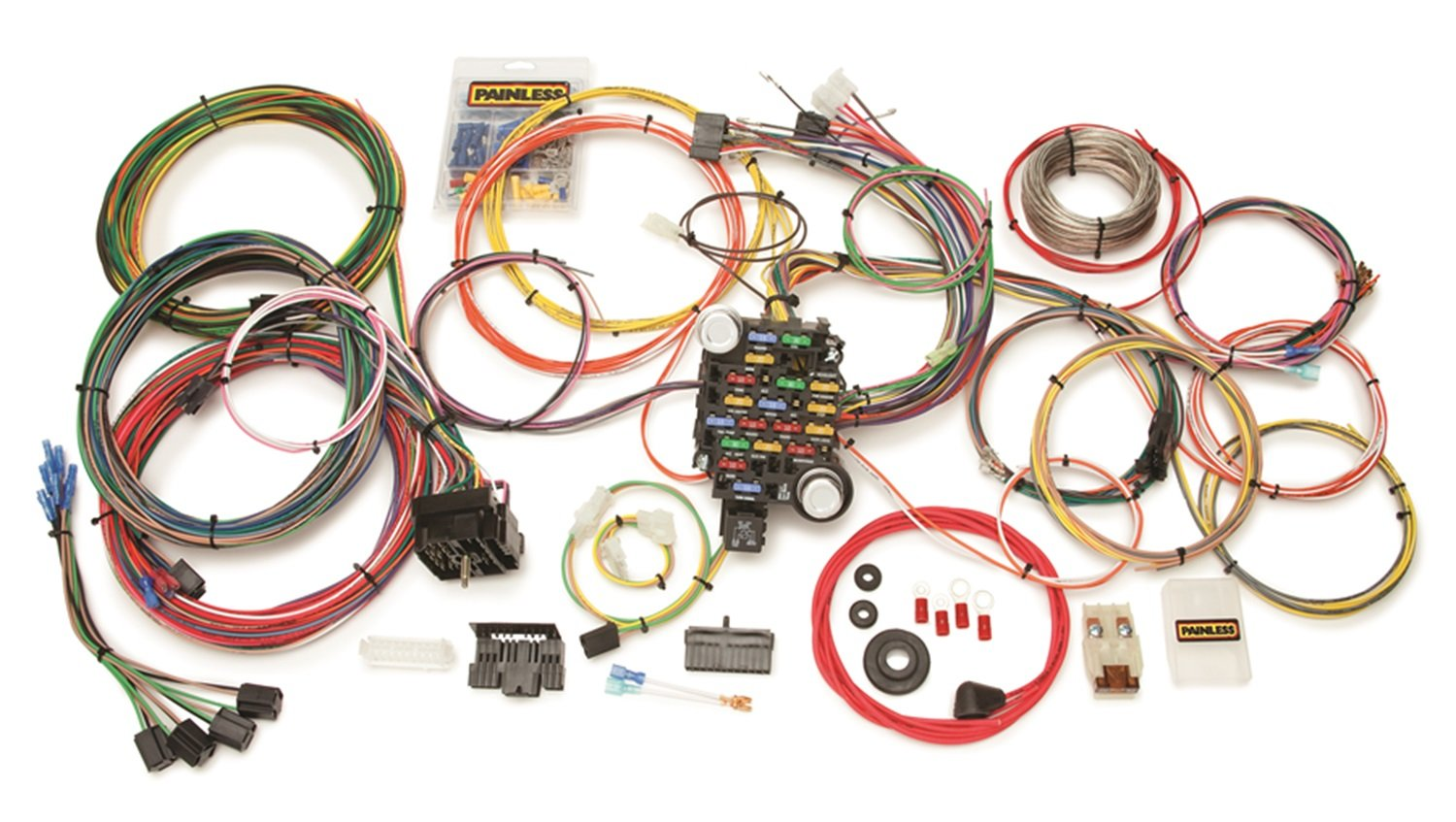 18 Circuit Painless Wiring Harness Library 10102 Instructions Amazoncom 10205 System Automotive