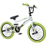 """deTOX Vélo BMX 18"""" Freestyle pour enfants et débutants à partir de 120cm, à partir de 6ans"""