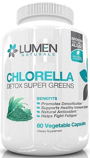 Amazon.com: Chlorella – Potente desintoxicación superverdes ...