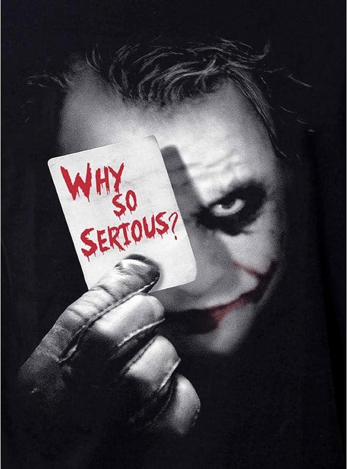 Camiseta Batman Joker para Hombre Why So Serious