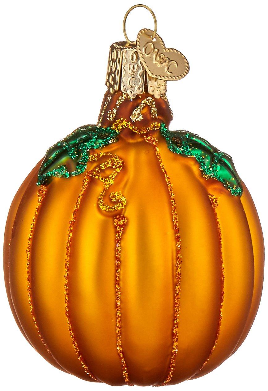 Amazon.com: Old World Christmas Ornaments: Pumpkin Glass Blown ...