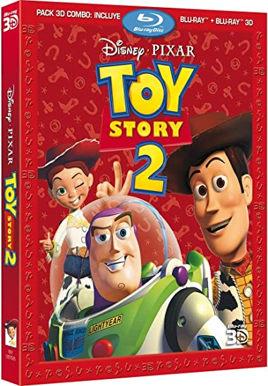 Poster of Toy Story 2 1999 Full Hindi Dual Audio Movie Download BluRay 720p