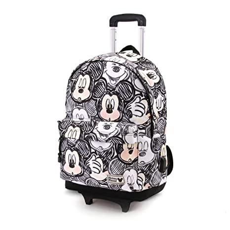Karactermania Disney Classic Mickey Oh Boy-Mochila HS con Carro Mochila Tipo Casual, 51