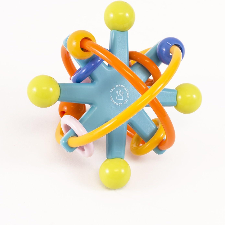 Healthy Baby Kids Rattles Biting Teething Teether Balls Toys Circle Ring Toy SO