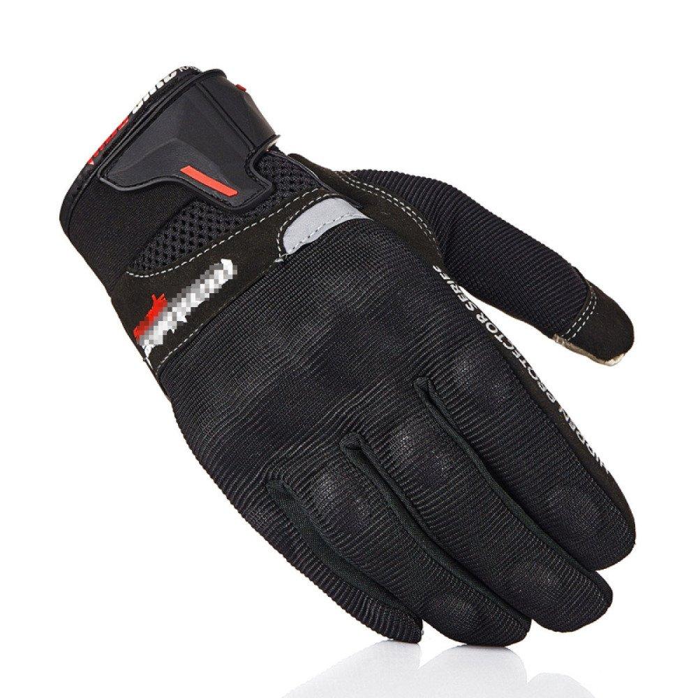 LDFN Outdoor Schutzhandschuhe Touch Control Sliding Warming Für Laufen Fahren Skifahren Skating Klettern Training,schwarz-L