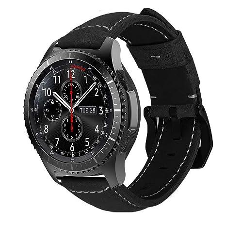 MroTech - Correa de Repuesto para Reloj de Pulsera Gear S3 ...