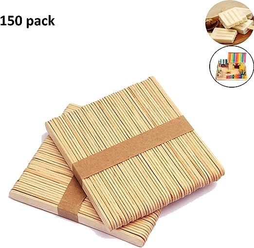150 Piezas Palos polo de madera, Palitos De Madera Manualidades ...