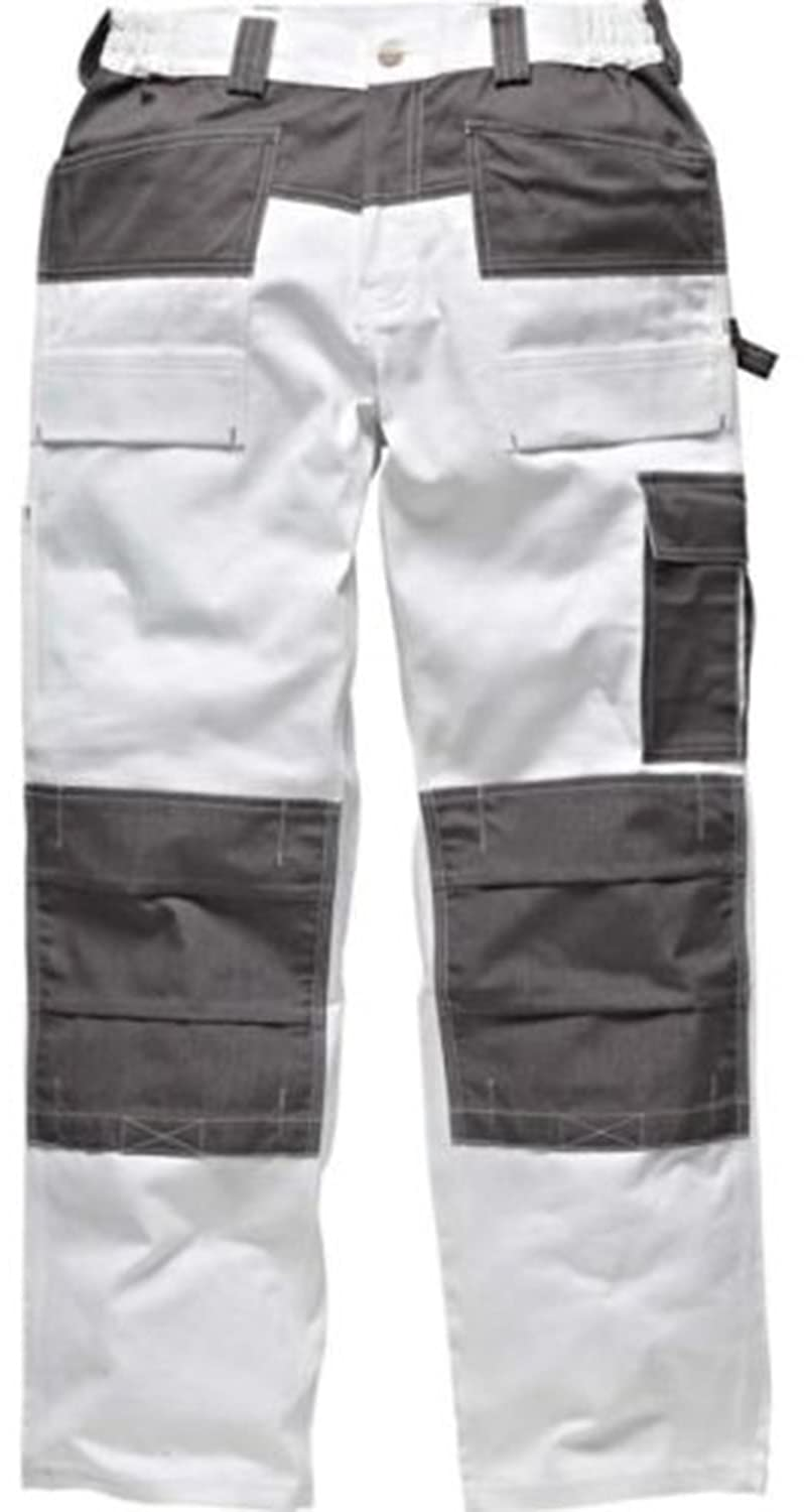 Dickies Mens Short Duotone Trouser With Knee Pad Pockets