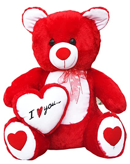 Buy Iblay Beautiful Red Love Teddy Bear 60 Cm (2 Feet) Online at Low Prices in India - Amazon.in