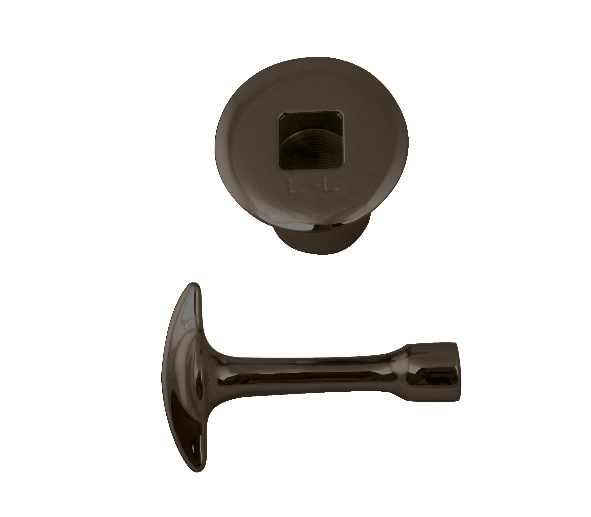 Westbrass Log Lighter Trim Kit for 3/4'' NPSM Valves, Oil Rubbed Bronze, R500-12