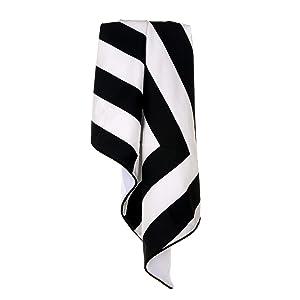 Glenna Jean Apollo Crib Quilt, Black/White