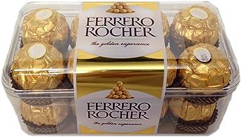 Oferta amazon: Ferrero Rocher - Caja de Regalo con 16 Piezas - 200g - Caja de Regalo Chocolates Ferrero Rocher 16 Piezas 200g, Caja Individual