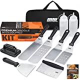OUII Flat Top Griddle Accessories Set for Blackstone and Camp Chef Griddle - 9 Pieces Set with Griddle Cleaning Kit and Carry