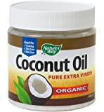 Natures Way Extra Virgin Coconut Oil - Semi Solid 448g (Pack of 2)