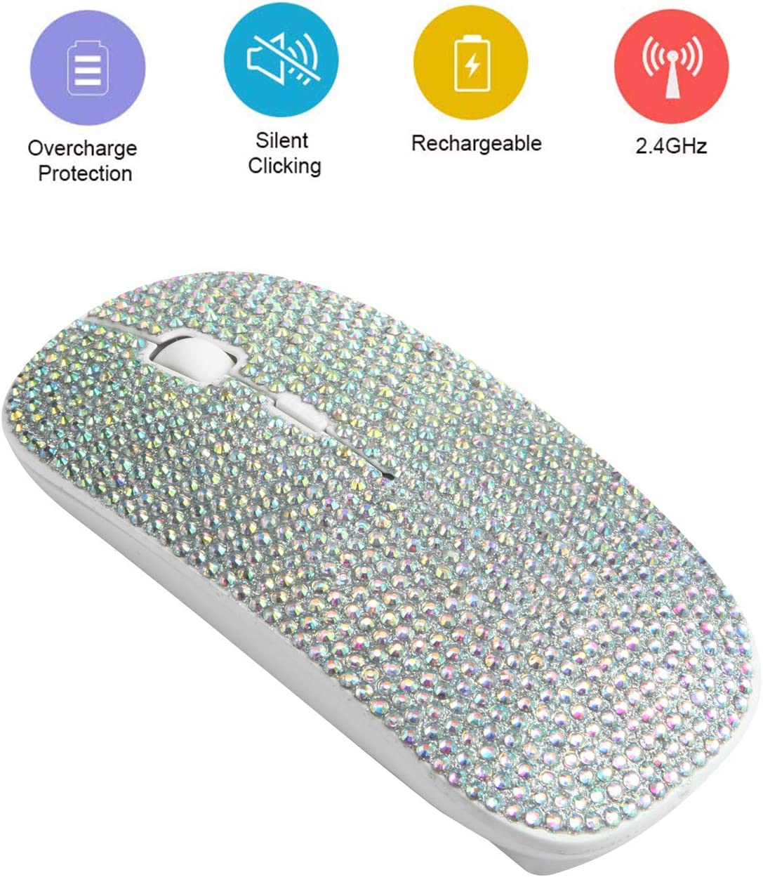 BIBLE VERSE GIVE ALL YOUR CARES TO THE LORD Optical 2.4G Wireless Computer Mouse KOOLmouse