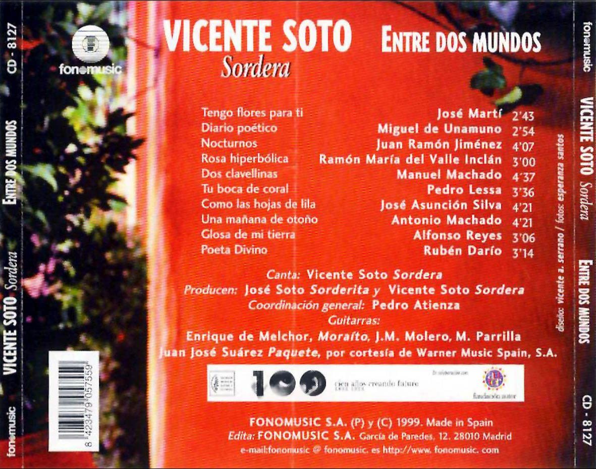 Vicente Soto - Entre Dos Mundos - Amazon.com Music