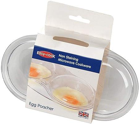 Easy-Cook Pendeford Escalfador de Huevos (para microondas, 2 ...