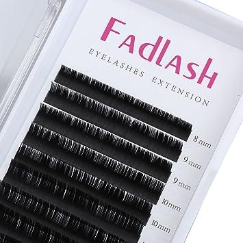 6306161a3e8 Amazon.com : Eyelash Extensions C Curl 0.15mm 8~14mm Mixed Tray Silk Volume Lash  Extensions Supplies Synthetic Individual Lashes Semi-permanent Eyelashes ...