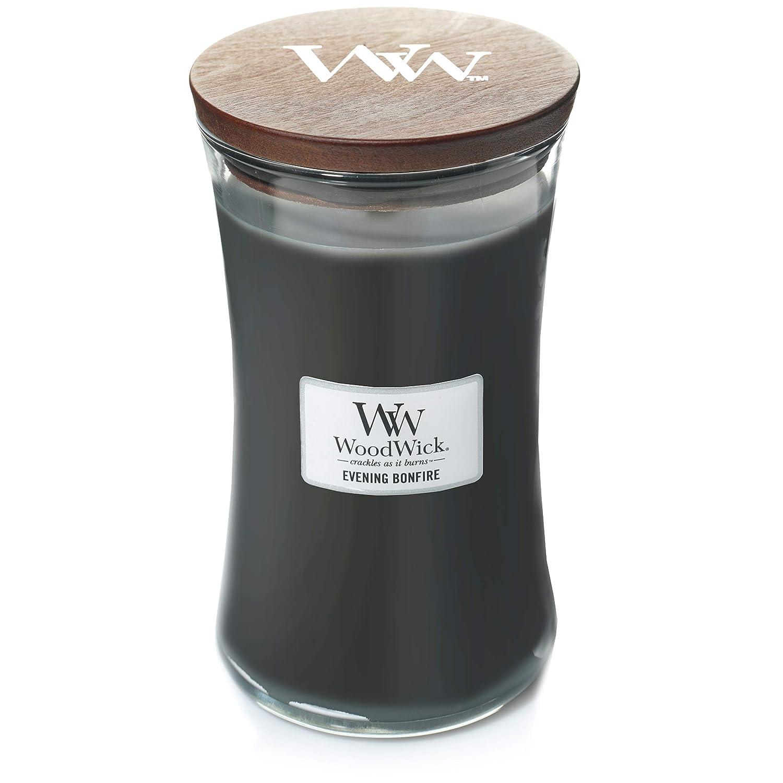 WoodWick キャンドル ラージ イブニング 焚き火 B07DH5ZS74