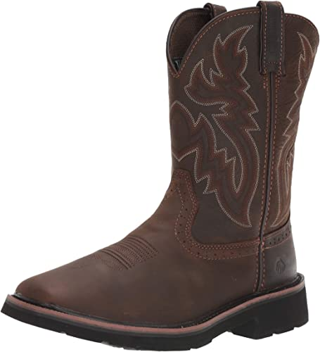 Square Soft Toe Work Boot