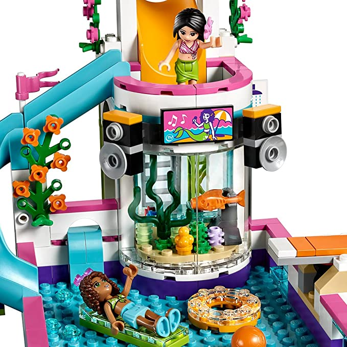 Summer Lego Friends Pool 41313 Heartlake lF1c3TKJ