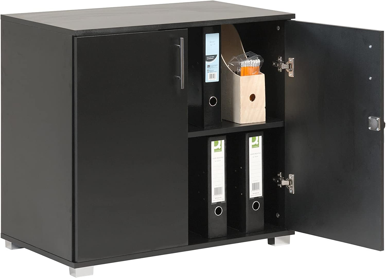 Studio Resistente e Durevole Camera da Letto con 3 Cassetti Ideale per Ufficio DREAMADE Armadietto per Ufficio Cassettiera per Mobile Nero Cassettiera per Scrivania 1