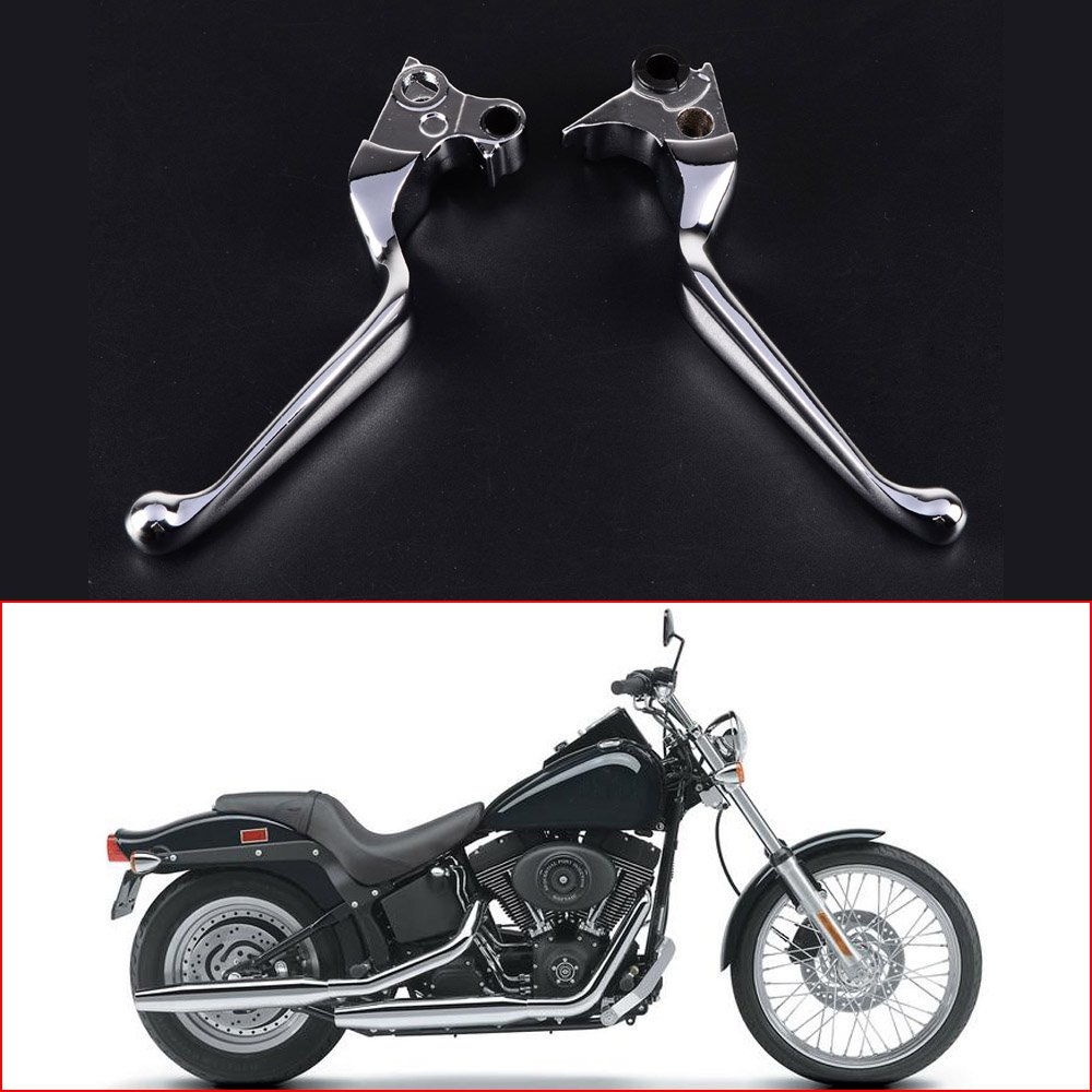 Chrome Bremse Kupplung Handhebel f/ür Harley XL Sportster 883/1200/softail Dyna Road King Touring Modelle