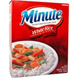 Minute, Long Grain White Rice, 72 Oz Box (Pack of 2)