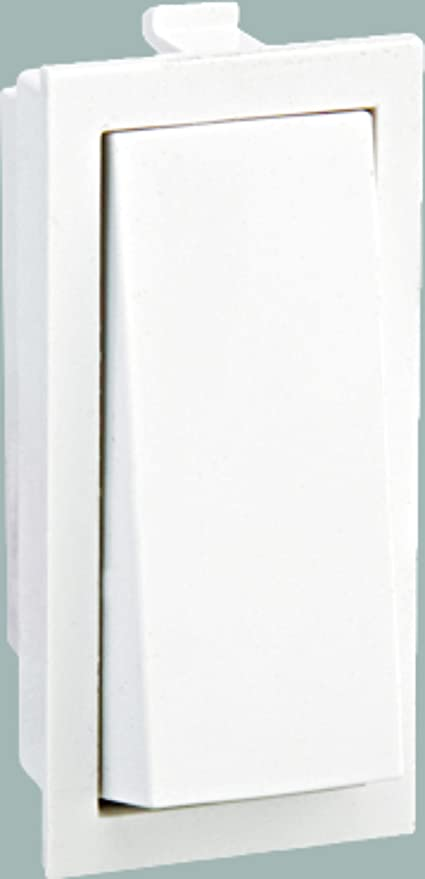 CITRA 6A One Way Switch Modular (White) - Pack of 20: Amazon.in ...