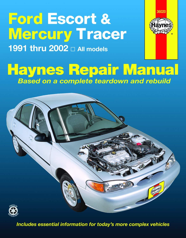 Ford Escort & Mercury Tracer (91-02) Haynes Repair Manual: Haynes, J.J.:  9781563928406: Amazon.com: Books | 1998 Mercury Tracer Wiring Diagram Free Picture |  | Amazon.com