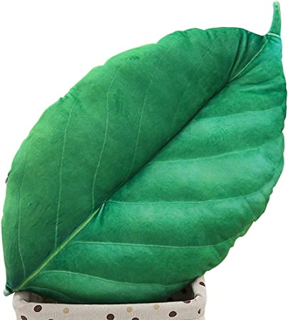 Kanggest Hug Pillow Cotton Hemp Leaves