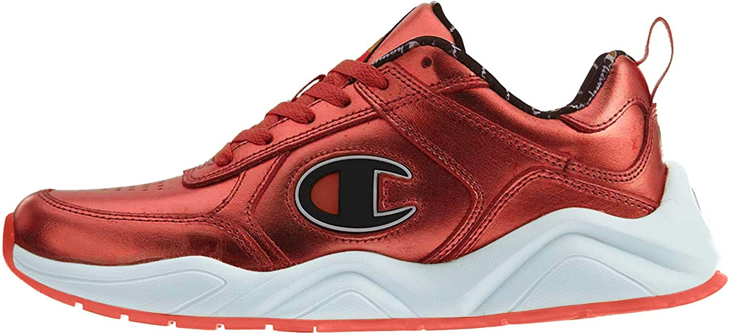 Champion Mens 93 Eighteen Block Low Top Lace Up Fashion Sneakers