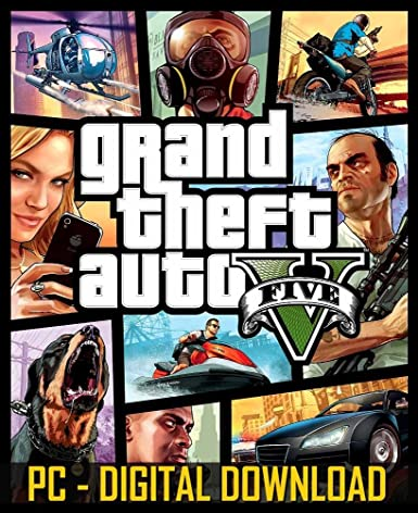 Buy Grand Theft Auto 5 (Digital Code) Online at Low Prices in India