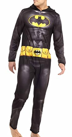1a0ae691c1c Amazon.com  Briefly Stated Men s Batman Dark Knight Hooded Jumpsuit ...