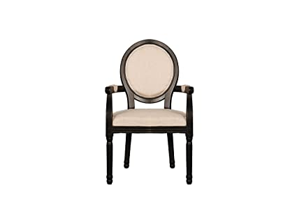 Image Unavailable Not Available For Color Rustic Distressed Dining Room Chair Round Back