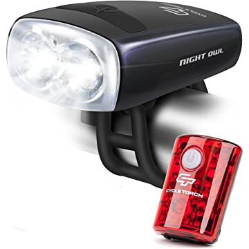 Cycle Torch Night Owl USB Rechargeable Bike Light