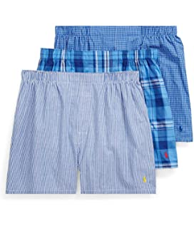 Classic Amazon Men's Store Pack Woven Clothing 3 At Boxer c1TlJKF