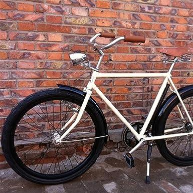 ecosin bicicleta Retro Faro para bicicleta 3 LED luz delantera ...
