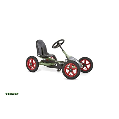 Berg Pedal Car Buddy Fendt | Pedal Go Kart, Ride On Toys for Boys and Girls, Go Kart, Outdoor Games and Outdoor Toys, Adaptable to Body Lenght, Pedal Cart, Go Cart for Ages 3-8 Years: Toys & Games