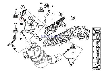 Amazon com: BMW Genuine Diesel part filter sensor/mounting